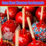 manzanas con caramelo
