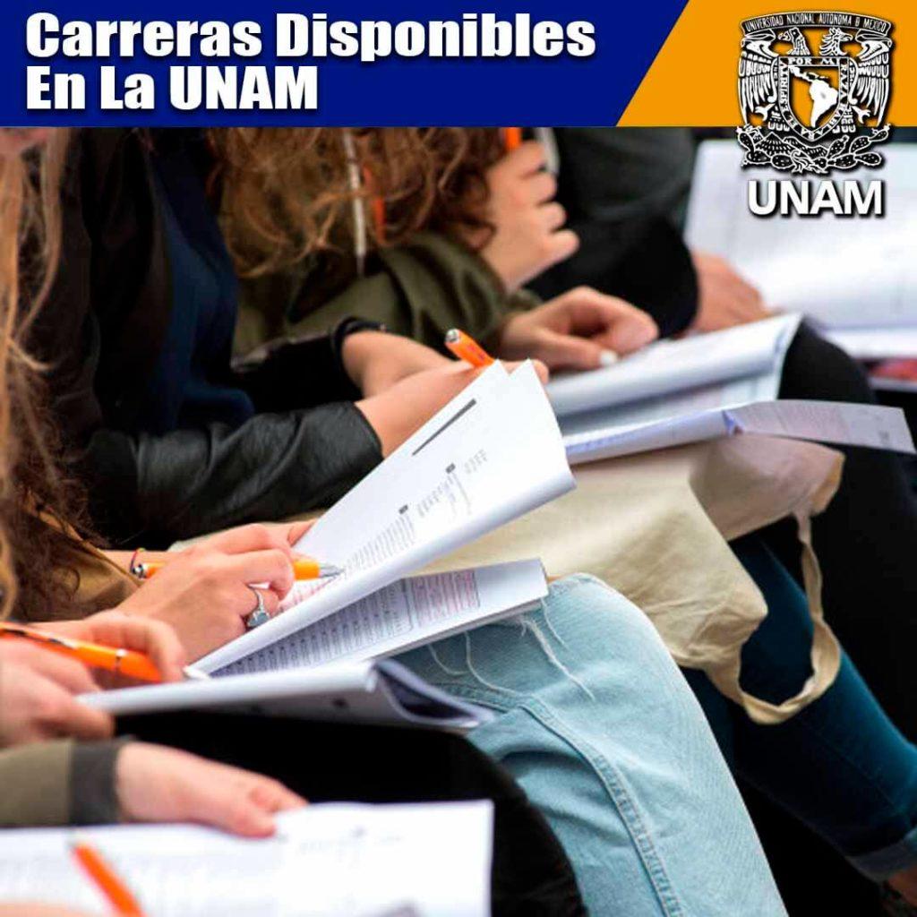 Carreras de la UNAM