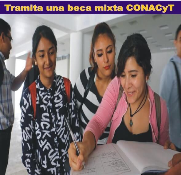 beca mixta CONACyT