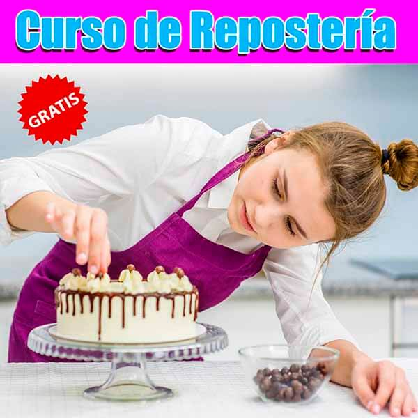 Curso Online de Repostería.